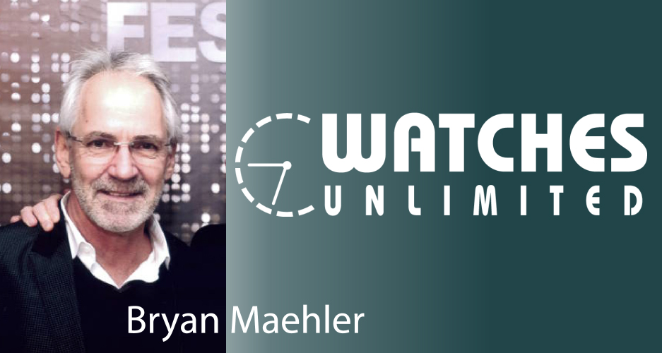 Image of Bryan Maehler and Watches Unlimited Company Logo